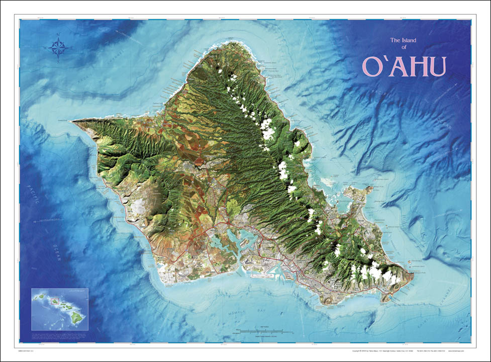 The Island Of Oahu Hawaii
